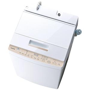 東芝 ◎全自動洗濯機 (洗濯8.0kg) AW-BK8D7-W グランホワイト(標準設置無料)