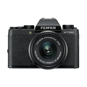 富士フィルム 「レンズキット」(ブラック/ミラーレス一眼カメラ) FX-T100LKB