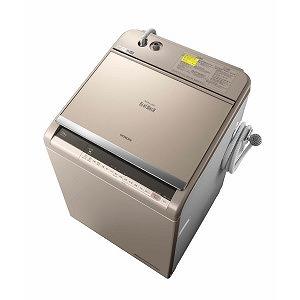 日立 縦型洗濯乾燥機 (洗濯12.0kg/乾燥6.0kg)「ビートウォッシュ」 BW-DV120C シャンパン(標準設置無料)