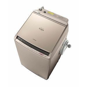 日立 タテ型洗濯乾燥機 (洗濯10.0kg/乾燥5.5kg) BW-DV100C シャンパン(標準設置無料)