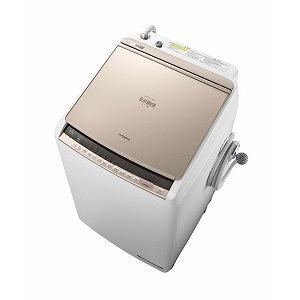 日立 ◎タテ型洗濯乾燥機 (洗濯9.0kg/乾燥5.0kg)「ビートウォッシュ」 BW-DV90C シャンパン(標準設置無料)