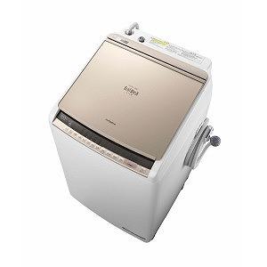 日立 タテ型洗濯乾燥機 (洗濯8.0kg/乾燥4.5kg)「ビートウォッシュ」 BW-DV80C シャンパン(標準設置無料)
