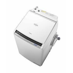 日立 タテ型洗濯乾燥機 (洗濯8.0kg/乾燥4.5kg)「ビートウォッシュ」 BW-DV80C ホワイト(標準設置無料)