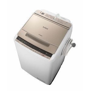 日立 全自動洗濯機 (洗濯9.0kg) BW-V90C シャンパン(標準設置無料)