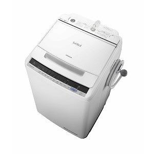 日立 全自動洗濯機 (洗濯8.0kg) BW-V80C ホワイト(標準設置無料)