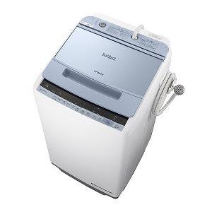 日立 全自動洗濯機 (洗濯7.0kg) BW-V70C ブルー(標準設置無料)