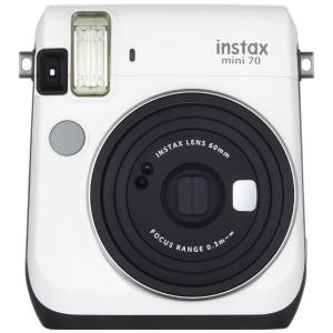 富士フィルム インスタントカメラ チェキ instax mini 70N ホワイト INSMINI70NWHITE(送料無料)