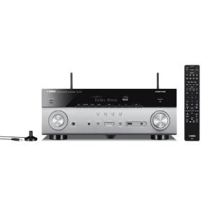 YAMAHA AVアンプ RX-A780H チタン [ハイレゾ対応 /Bluetooth対応 /Wi-Fi対応 /ワイドFM対応 /7.1ch /DolbyAtmos対応]