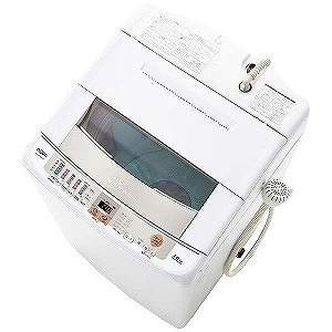 AQUA 全自動洗濯機 (洗濯10.0kg) AQW-VW100G-W(標準設置無料)