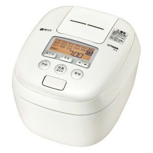タイガー 圧力IH炊飯ジャー 「炊きたて」(1升) JPC-B182WM ミルキーホワイト(送料無料)