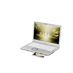 パナソニック レッツノート LV 14.0型ノートPC CF-LV72DFQR シルバー(送料無料)