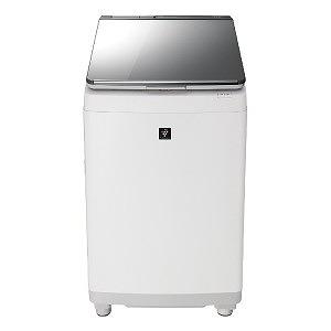 シャープ タテ型洗濯乾燥機 (洗濯11.0kg/乾燥6.0kg) ES-PU11C-S シルバー(標準設置無料)
