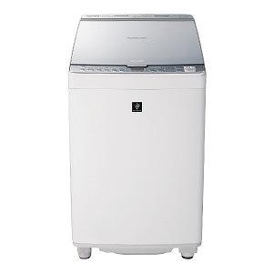 シャープ タテ型洗濯乾燥機 (洗濯8.0kg/乾燥4.5kg) ES-PX8C-S シルバー(標準設置無料)