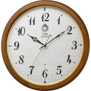 リズム時計工業 電波掛け時計 「トトロM534」 8MY534MN06 8MY534MN06