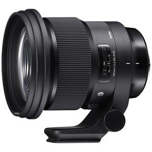 シグマ 交換レンズ 105mm F1.4 DG HSM「ソニーEマウント」 105MMF1.4DGHSMA(ソニー(送料無料)
