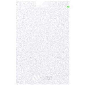 バッファロー 外付けHDD ホワイト [ポータブル型 /500GB] HD-PCG500U3-WA