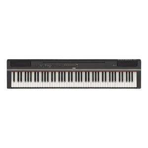 YAMAHA 電子ピアノ P-125B ブラック(送料無料)
