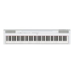 YAMAHA 電子ピアノ ステージピアノ P-125WH ホワイト [88鍵盤]