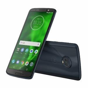モトローラ SIMフリースマートフォン「PAAG0028JP」Snapdragon450 5.7型 Moto G6 ディープインディゴ