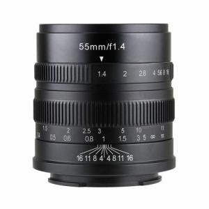 SHOTEN 5514EB 七工匠 7artisans 55mm F1.4 ソニーE(APS-C)用 5514EB ブラック