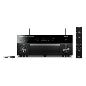 YAMAHA AVアンプ [ハイレゾ対応 /Bluetooth対応 /Wi-Fi対応 /ワイドFM対応] RX-A1080B ブラック