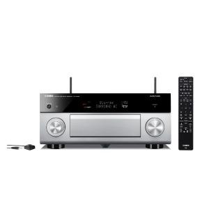 YAMAHA AVアンプ [ハイレゾ対応 /Bluetooth対応 /Wi-Fi対応 /ワイドFM対応] RX-A2080H チタン