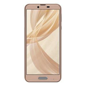 シャープ (SIMフリースマートフォン防水・おサイフケータイ)AQUOS sense plus SH-M07-C Snapdragon 630 ベージュ