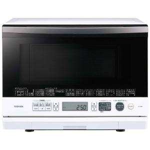 東芝 過熱水蒸気オーブンレンジ 「石窯ドーム」(26L) ER-SD80-W グランホワイト