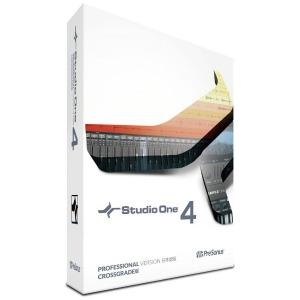 プリソーナス Studio One 4 日本語版 ≪クロスグレード版≫ [Win・Mac用] STUDIOONE4CROSSニホン