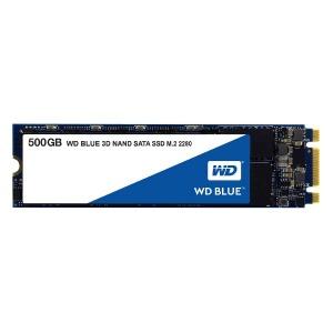 ウエスタンデジタル 内蔵SSD 500GB バルク品 WD BLUE 3D NAND SATA SSD WDS500G2B0B(送料無料)