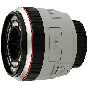 日新精工 レンズ型カメラの掃除機 Fujin Mark II White(風塵 白レンズモデル) EF-L002WR「キヤノンEFマウント対応モデル」