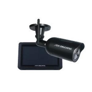 デルカテック 「屋外用」ワイヤレスカメラモニターセット WSC410S