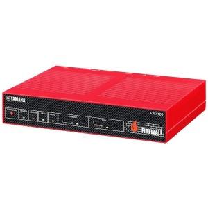YAMAHA 有線ブロードバンドルーター[4ポート・Gigabit対応] ファイアウォール FWX120/CM レッド