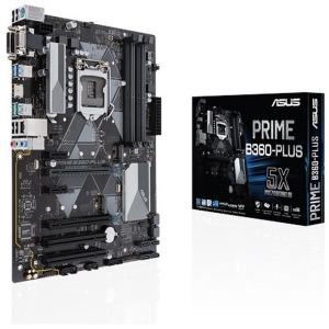 ASUS マザーボード Intel B360チップセット搭載 LGD2151対応 PRIME B360-PLUS [ATX]