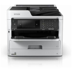 エプソン EPSON モノクロインクジェット複合機[はがき~A4対応/USB2.0/無線・有線LAN/FAX・ADF搭載] PX-M380F