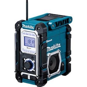据え置きラジオ 充電式(ブルー) MR108 (バッテリ・充電器別売)