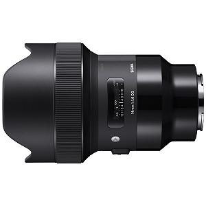 シグマ 交換レンズ 14mm  カメラ用交換レンズ F1.8 DG HSM Art ソニーEマウント ソニーE 単焦点レンズ