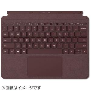 マイクロソフト 【純正】 Surface Go用 Surface Go Signature タイプ カバー KCS-00059 バーガンディ