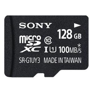 ソニー 128GB・UHS Speed Class1(Class10)対応microSDXCカード SR-128UY3A