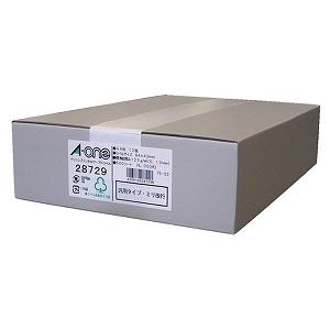 エーワン パソコンプリンタ&ワープロラベル (A4サイズ・12面・500シート) 28729(送料無料)