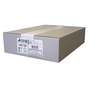 エーワン パソコンプリンタ&ワープロラベル(A4 14面・500シート) 28730(送料無料)