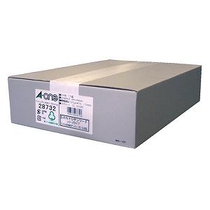 エーワン パソコンプリンタ&ワープロラベル(A4・10面×500シート) 28732(送料無料)