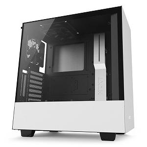 タイムリー NZXT インテリジェントPCケース CA-H500W-W1 ホワイト(送料無料)