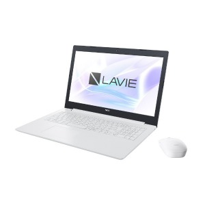 NEC LAVIE Note Standard 15.6型ノートPC PC-NS300KAW カームホワイト