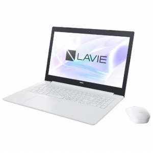 NEC LAVIE Note Standard 15.6型ノートPC PC-NS150KAW カームホワイト