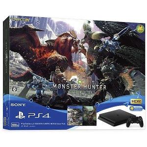 ソニー・コンピュータエンタテインメント PS4ゲーム機本体 PlayStation4 MONSTER HUNTER: WORLD Value Pack(送料無料)