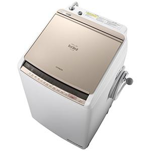 日立 ◎タテ型洗濯乾燥機(洗濯7.0kg /乾燥3.5kg )「ビートウォッシュ」 BW-DBK70C シャンパン(標準設置無料)