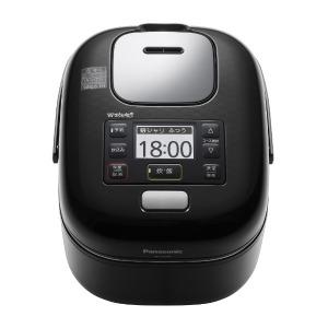 パナソニック 圧力IH炊飯器 Wおどり炊き [3合] SR-JW058-KK シャインブラック