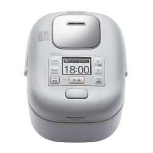 パナソニック 圧力IH炊飯器 Wおどり炊き [3合] SR-JW058-W 豊穣ホワイト(送料無料)