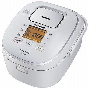 パナソニック IH炊飯器 大火力おどり炊き [5.5合] SR-HX108-W スノーホワイト